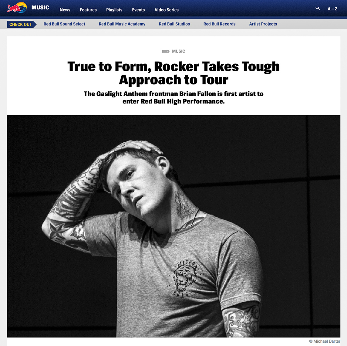 Brian Fallon, Red Bull High Performance